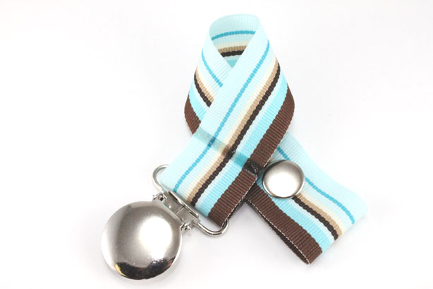 Lt. Blue Westbrook Pacifier Holder-Lt. Blue Westbrook Pacifier Holder