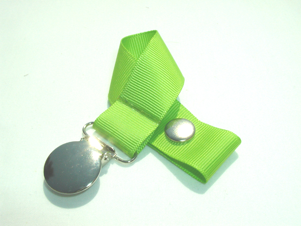 Apple Green Pacifier Holder-Apple Green Pacifier Holder