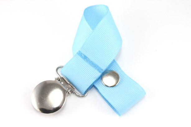 Blue Mist Green Pacifier Holder-Blue Mist Pacifier Holder