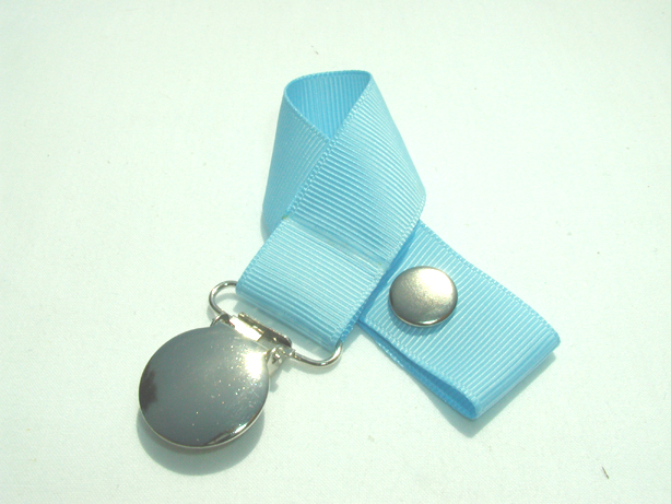 Blue Topaz Pacifier Holder-Blue Topaz Pacifier Holder