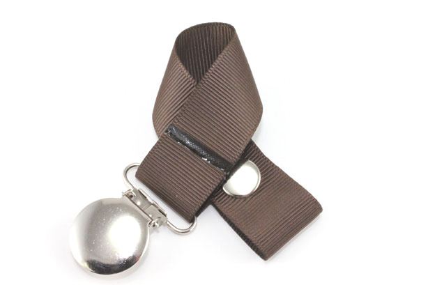 Brown Pacifier Holder-Brown Pacifier Holder