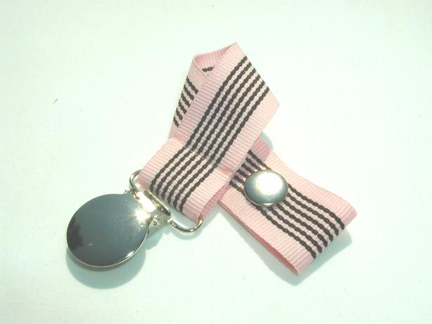 Chocolate Bubblegum Pacifier Holder-Chocolate Bubblegum Pacifier Holder