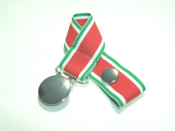 Holiday Traxx Pacifier Holder-Holiday Traxx Pacifier Holder