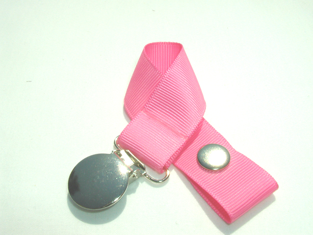 Hot Pink Pacifier Holder-Hot Pink Pacifier Holder