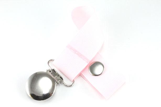 Icy Pink Pacifier Holder-Icy Pink Pacifier Holder