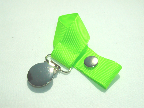 Key Lime Pacifier Holder-Key Lime Pacifier Holder