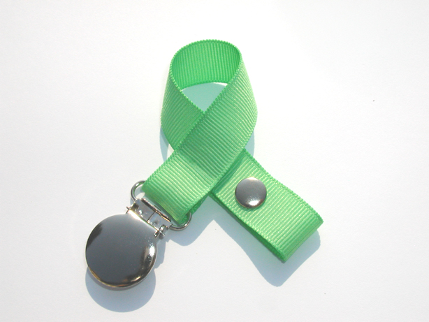 Mint Small Pacifier Holder-Mint Small Pacifier Holder