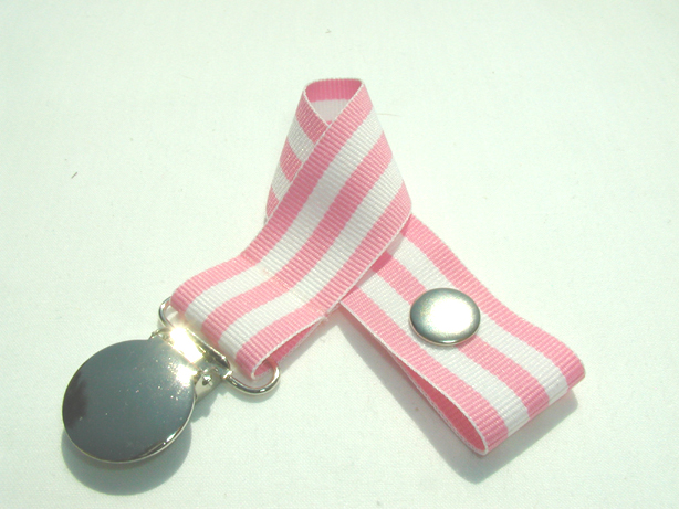 Monarch Pink Pacifier Holder-Monarch Pink Pacifier Holder