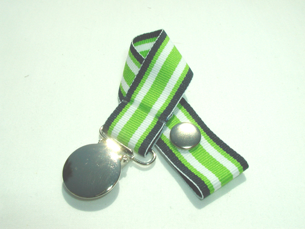 Navy Lime Surfboard Pacifier Holder-Navy Lime Surfboard Pacifier Holder