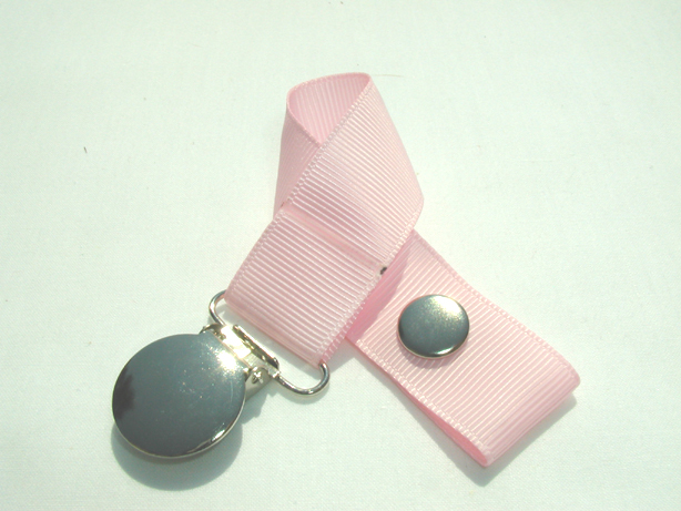 Pearl Pink Pacifier Holder-Pearl Pink Pacifier Holder