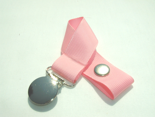 Pink Pacifier Holder-Pink Pacifier Holder