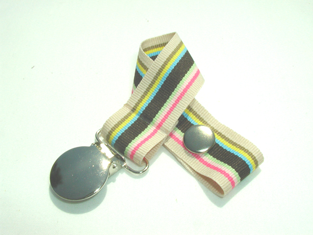 Sand Castle Pacifier Holder-Sand Castle Pacifier Holder