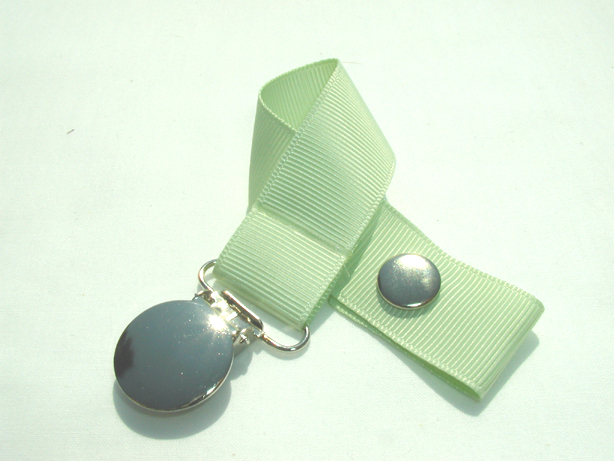 Seafoam Green Pacifier Holder-Seafoam Green Pacifier Holder