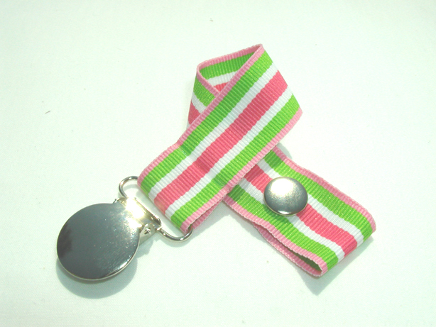 Sherbert Swirl Pacifier Holder-Sherbert Swirl Pacifier Holder