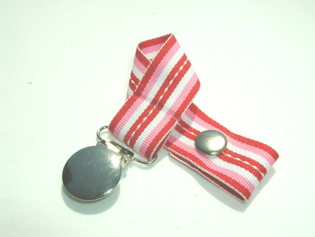 Sweetheart Stitch Pacifier Holder-Sweetheart Stitch Pacifier Holder