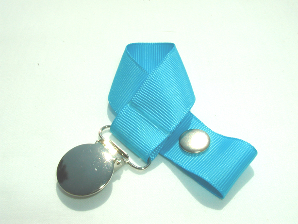Turquoise Pacifier Holder-Turquoise Pacifier Holder