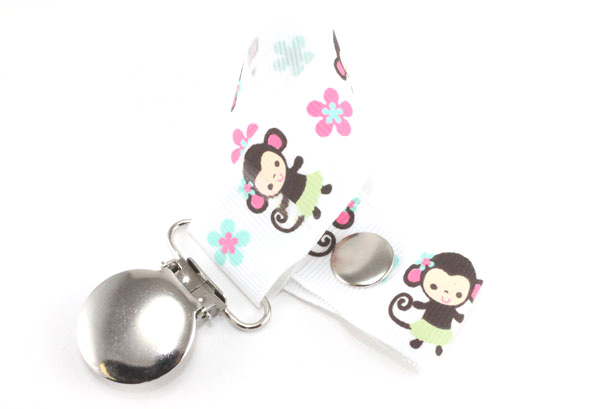 Baby Monkey Pacifier Holder-Baby Monkey Pacifier Holder