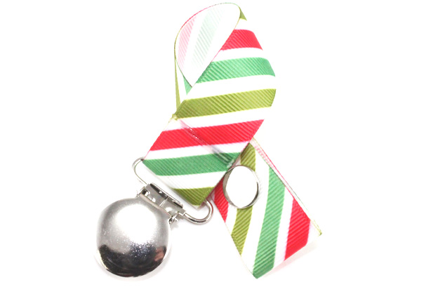 Candycane Pacifier Holder-Candycane Pacifier Holder