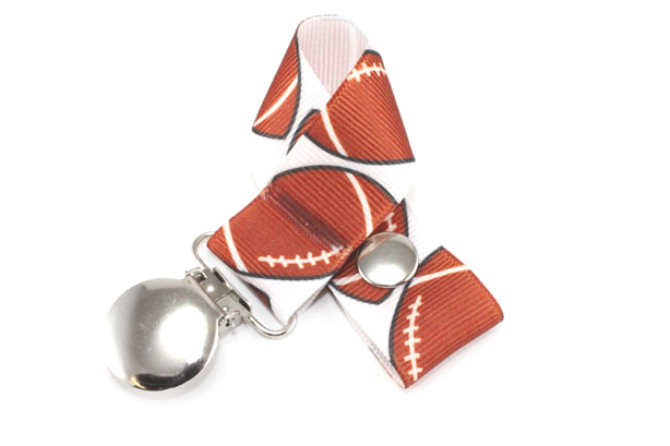 Football Pacifier Holder-Football Pacifier Holder