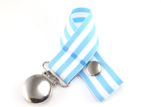 Monarch Baby Blue Pacifier Holder-Monarch Baby Blue Pacifier Holder