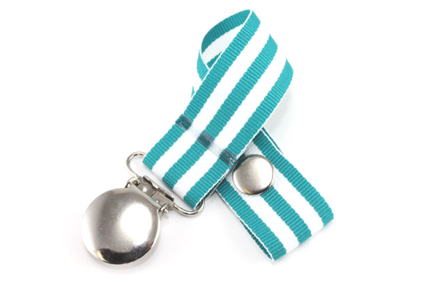 Monarch Teal Pacifier Holder-Monarch Teal Pacifier Holder
