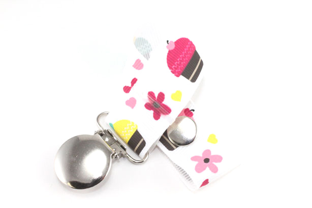 Sweet Cupcakes Pacifier Holder-Sweet Cupcakes Pacifier Holder